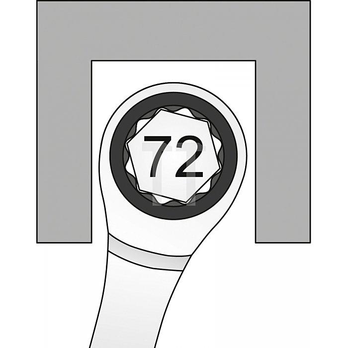 Matador Knarren-Ringmaulschlüssel gerade 17mm - 320 Nm 0183 0170