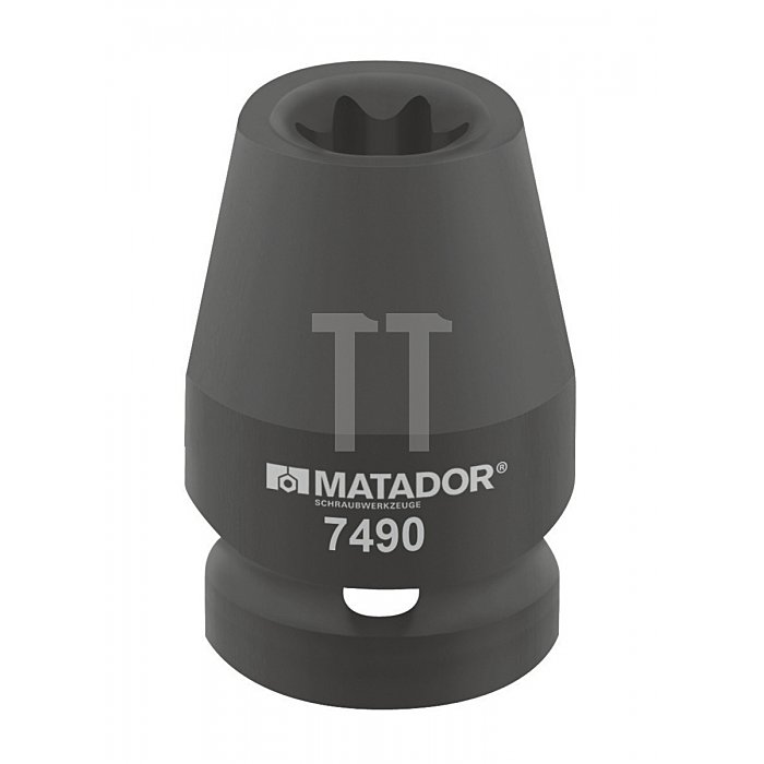 "Matador Kraft-Schraubendrehereinsatz Außen-TORX® 12,5 1/2"" E10 7490 0100"