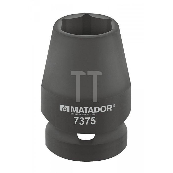 """Matador Kraft-Steckschlüsseleinsatz 10 3/8"""" 19mm 7375 0190"""