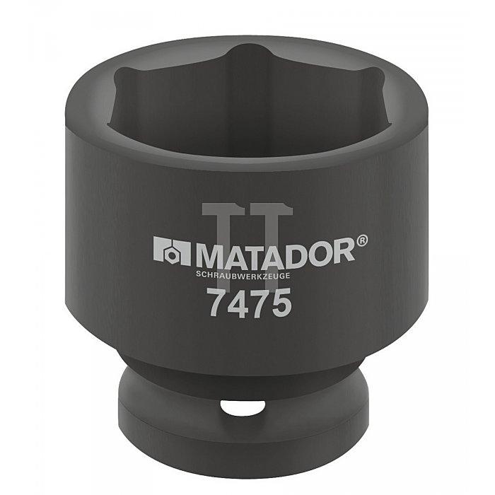 """Matador Kraft-Steckschlüsseleinsatz 12,5 1/2"""" 19mm 7475 0190"""