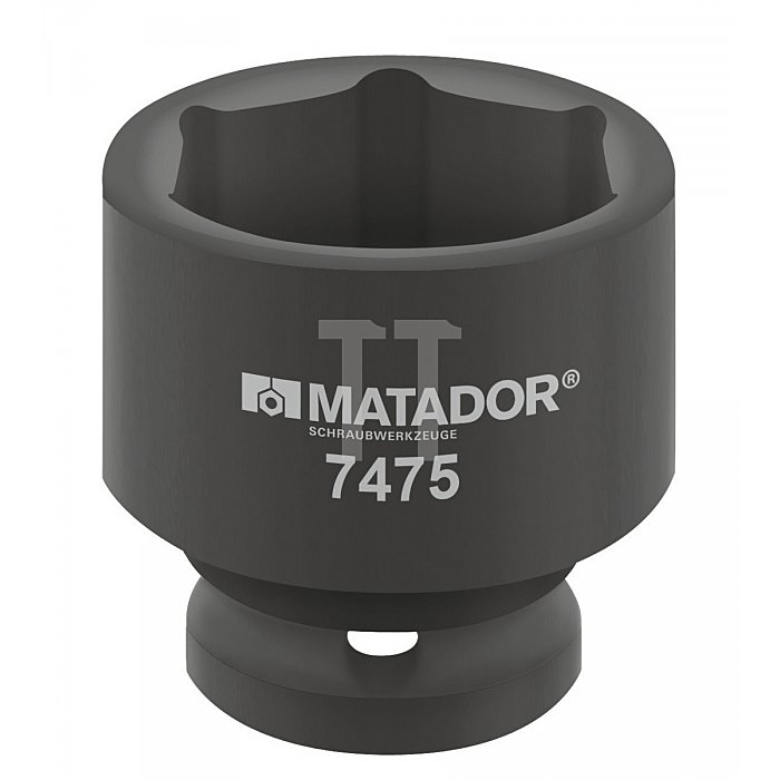 """Matador Kraft-Steckschlüsseleinsatz 12,5 1/2"""" 22mm 7475 0220"""