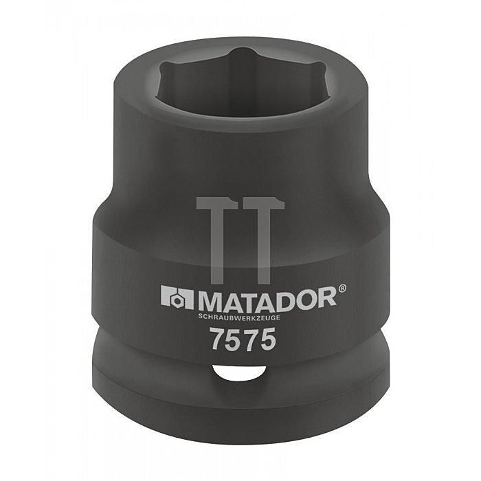 """Matador Kraft-Steckschlüsseleinsatz 20 3/4"""" 19mm 7575 0190"""