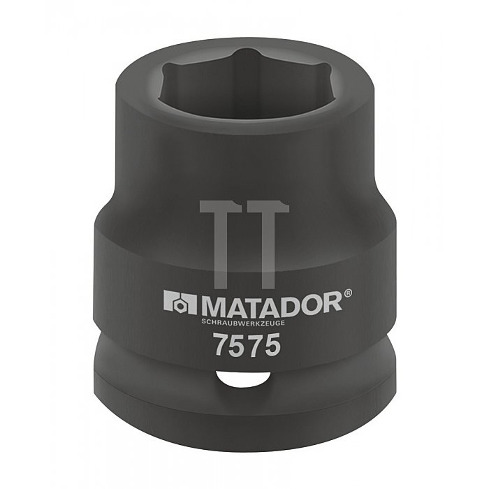 """Matador Kraft-Steckschlüsseleinsatz 20 3/4"""" 22mm 7575 0220"""