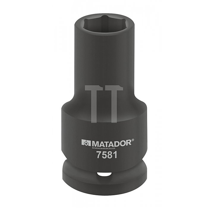 """Matador Kraft-Steckschlüsseleinsatz lang 20 3/4"""" 22x90mm 7581 0220"""