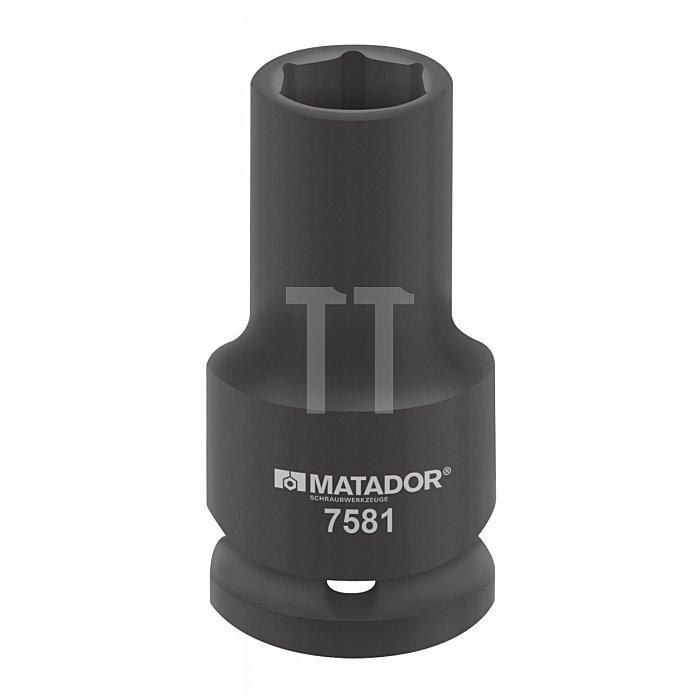 """Matador Kraft-Steckschlüsseleinsatz lang 20 3/4"""" 46x90mm 7581 0460"""