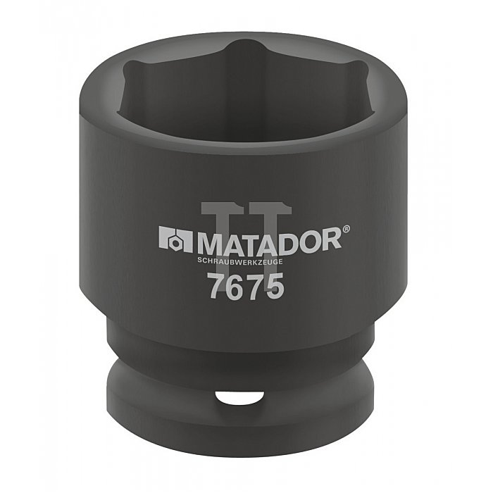 """Matador Kraft-Steckschlüsseleinsatz 25mm 1"""" 55mm 7675 0550"""