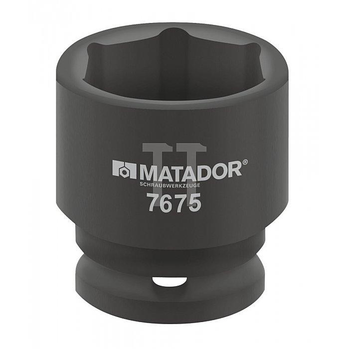 """Matador Kraft-Steckschlüsseleinsatz 25mm 1"""" 75mm 7675 0750"""