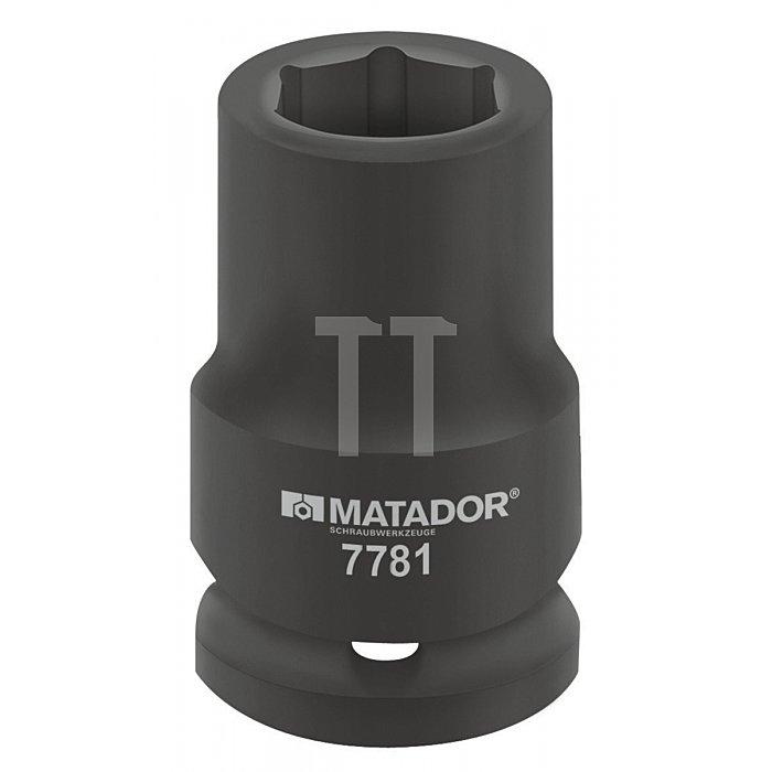 Matador 1.1/2'' Kraft-Steckschlüsseleinsatz lang 75mm 7781 0750