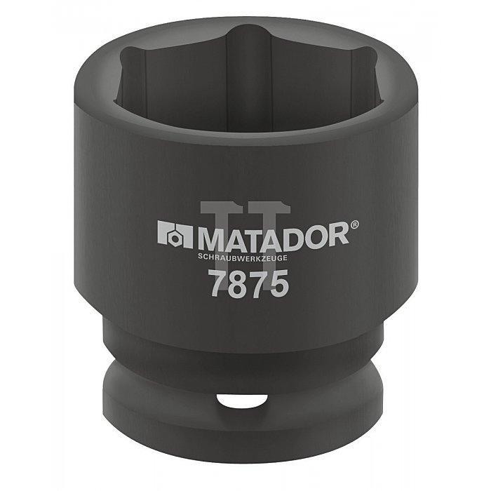 Matador 2.1/2'' Kraft-Steckschlüsseleinsatz 6-kt. 75mm 7875 0750