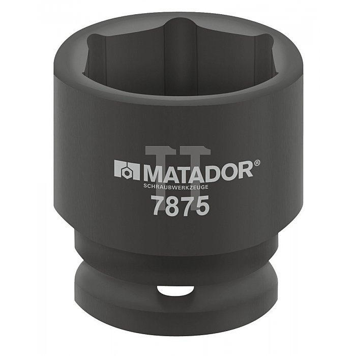 Matador 2.1/2'' Kraft-Steckschlüsseleinsatz 6-kt. 175mm 7875 1750