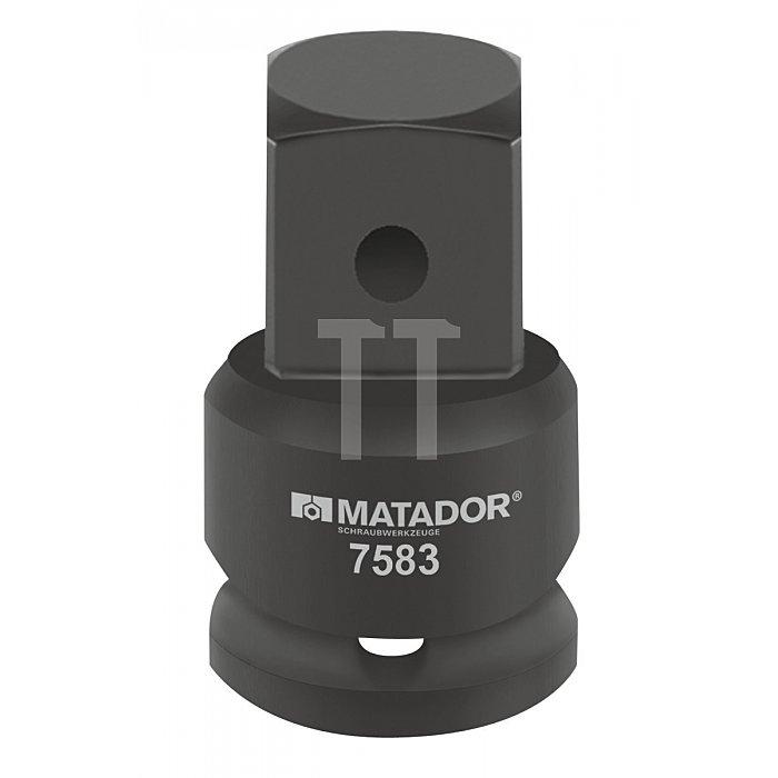 """Matador Kraft-Vergrößerungsstück 20 3/4"""" - 25mm 1"""" 7583 0001"""