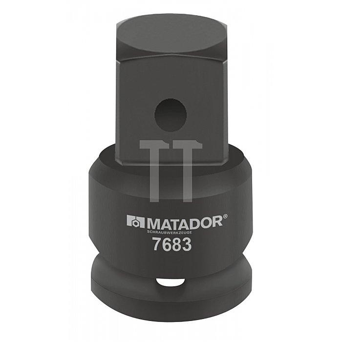 """Matador Kraft-Vergrößerungsstück 25mm 1"""" - 40 1.1/2 """" 7683 0001"""