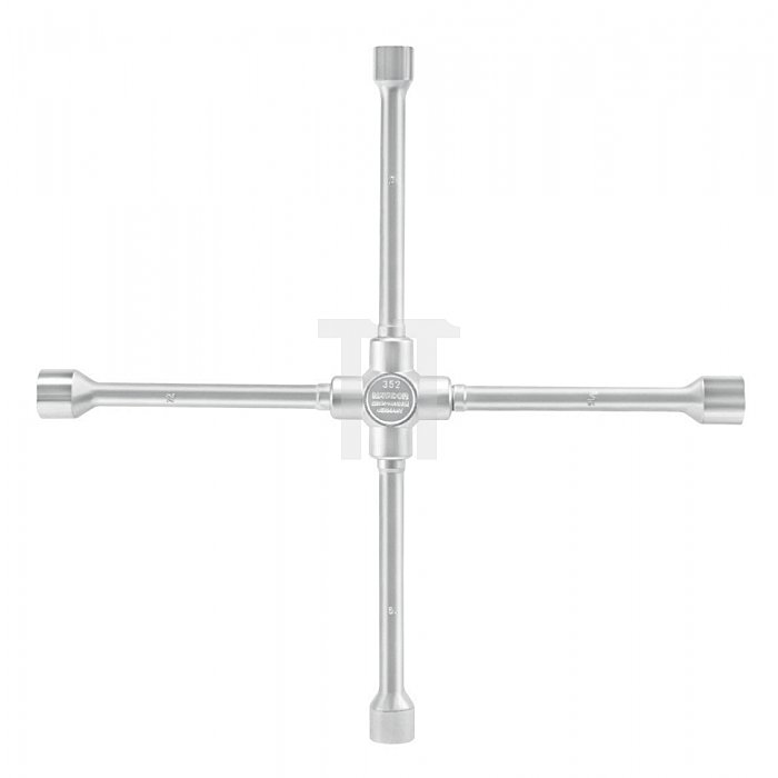 Matador Kreuzschlüssel für Lkw massiv 24 x 27 x 30 x 32mm 0356 0001