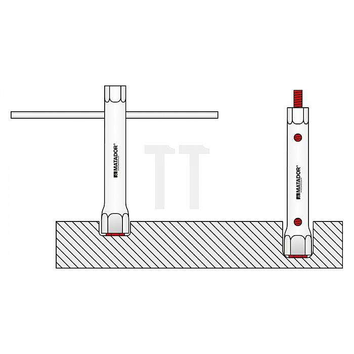 Matador Rohrsteckschlüssel 8x10mm DIN 896 0380 0810