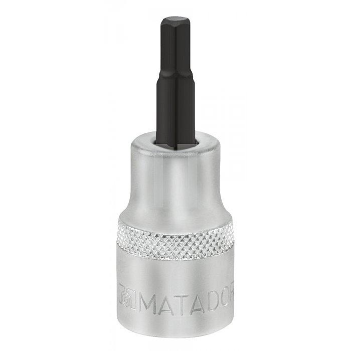 """Matador Schraubendreher-Einsatz Hex 10mm 3/8"""" 8x48mm 3078 0080"""