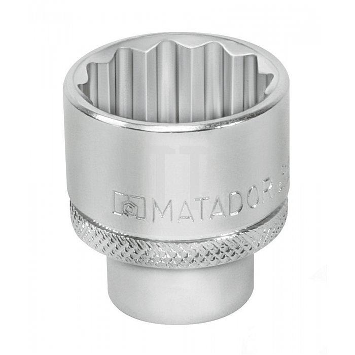 """Matador Steckschlüssel-Einsatz 12-kt. 10mm 3/8"""" 18mm 3075 1180"""