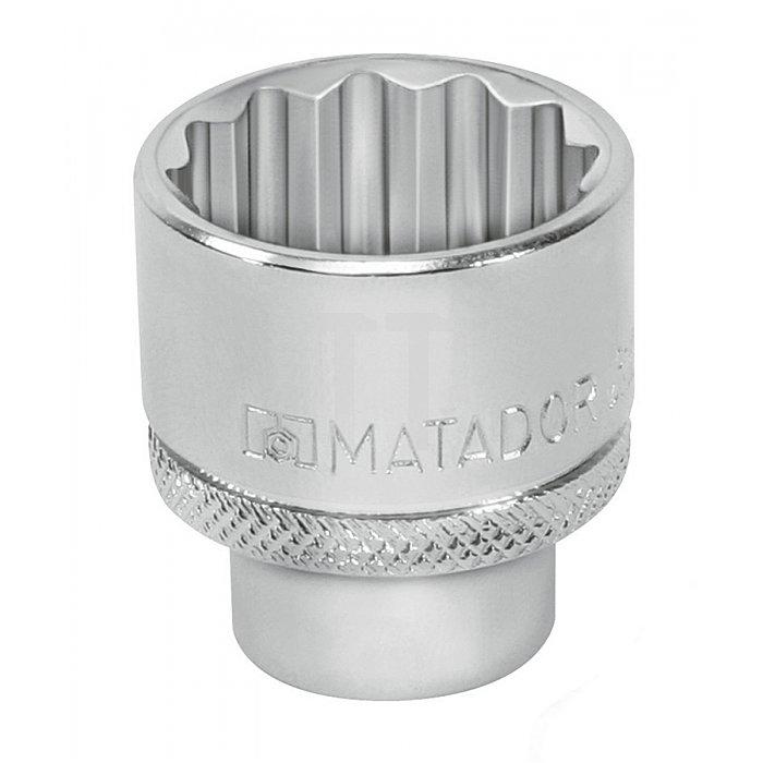 Matador Steckschlüssel-Einsatz 6-kt. 12,5 1/2 11mm 4075 8010