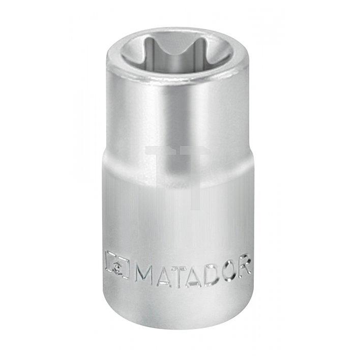"Matador Steckschlüssel-Einsatz Außen-TORX® 6,3 1/4"" E10 2090 0100"