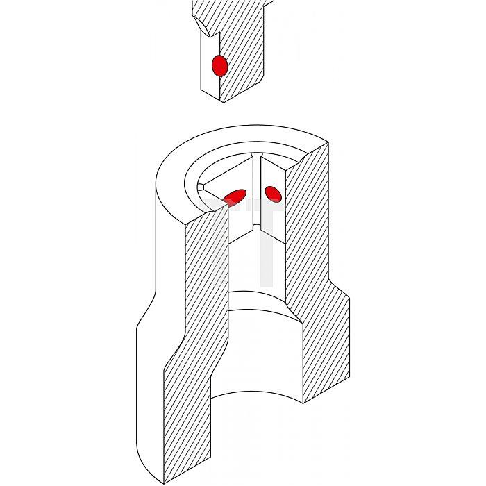 """Matador Steckschlüssel-Einsatz 6-kt. 6,3 1/4"""" 4mm 2075 0040"""
