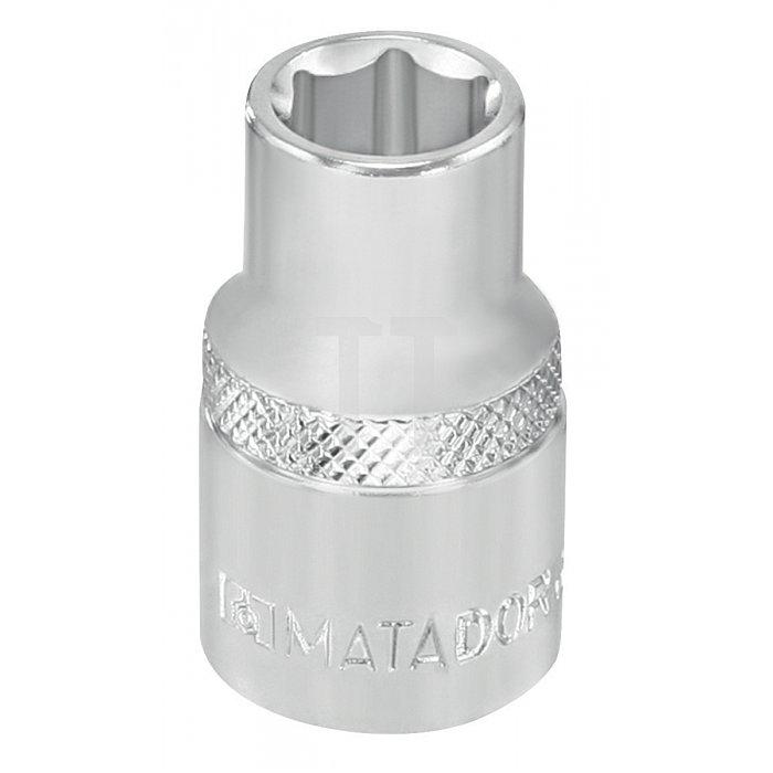 """Matador Steckschlüssel-Einsatz 6-kt. 10mm 3/8"""" 6mm 3075 0060"""