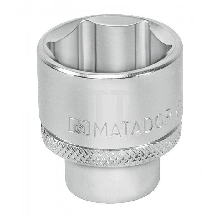 """Matador Steckschlüssel-Einsatz 6-kt. 10mm 3/8"""" 21mm 3075 0210"""