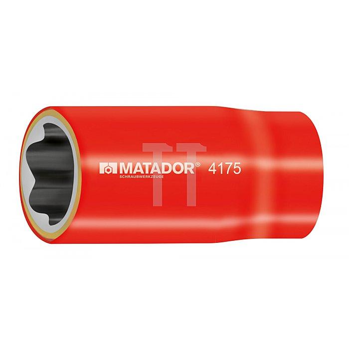 Matador Steckschlüsseleinsatz VDE metrisch + zöllig 12mm 4175 0120