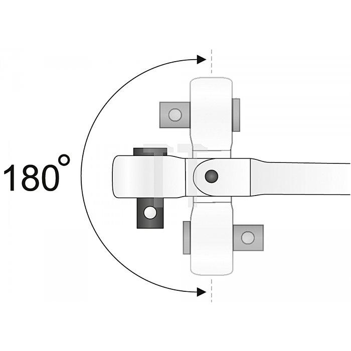Matador T-Griff-Schwenkkopfknarre 12,5 1/2 4063 0001