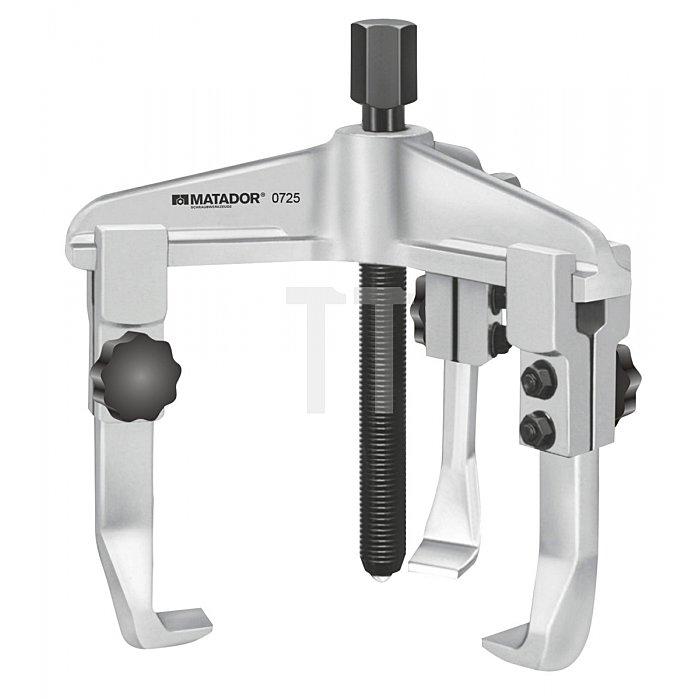Matador Universal Abzieher 3-armig mit Schnellspannmutter 60-200mm 0727 0104