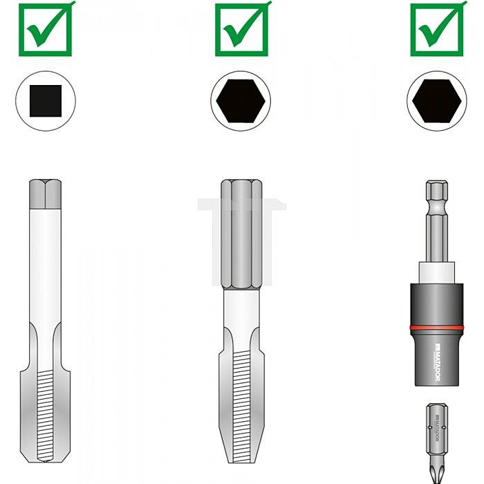 Matador Werkzeughalter Gewindebohrer 80mm 0772 0001