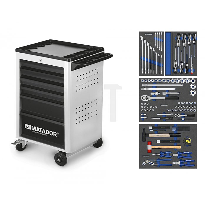 Matador Werkzeugsatz Quadro BASIC 8162 9501