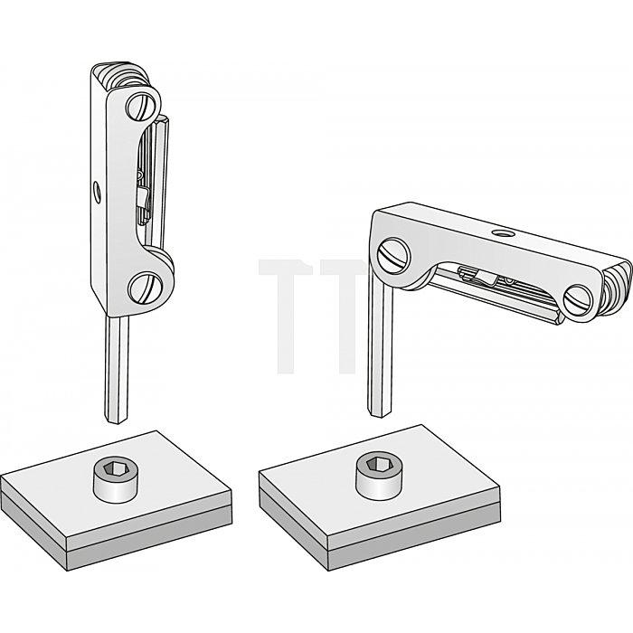 Matador Winkelschraubendreher kurz 6kant Metall 2-10mm 0440 9070