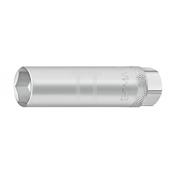 """Matador Zündkerzeneinsatz lang Gummi 10mm 3/8"""" 20,8mm 3081 0208"""