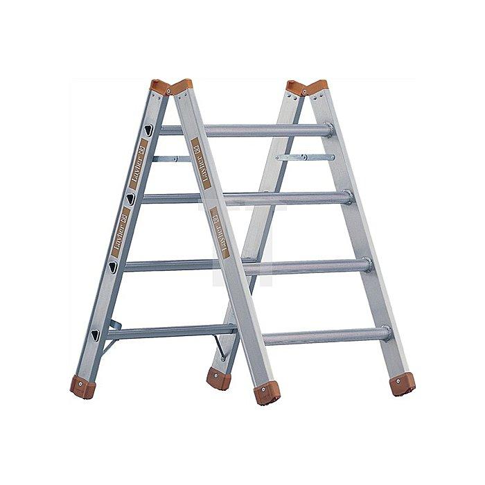 Mehrzweckbock Alu 4 Stufen einseitig begehbar Stand-H.980mm