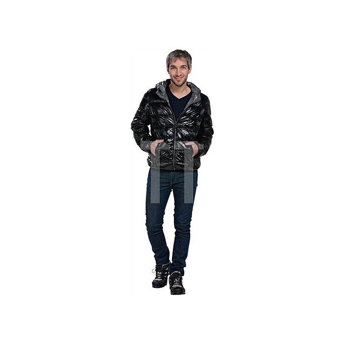 Men s Down Jacket Gr.L schwarz/grau 100% Polyamid