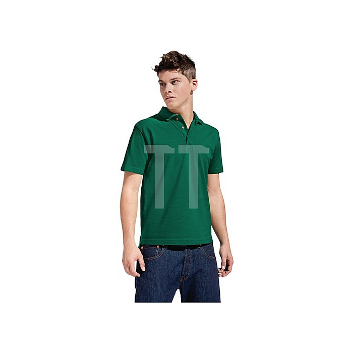 Men´s Heavy Polo Gr.XXL forest grün 100%Baumwolle, 220g/m