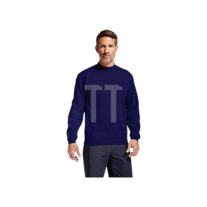Men#s Sweater 80/20 Gr.L weiss 80% Baumwolle, 20% Polyester, 280g/m