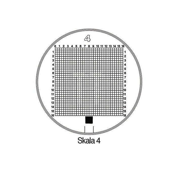 Messskala Tech-Line Skala-D.25/2,5mm Duo-Skala 4