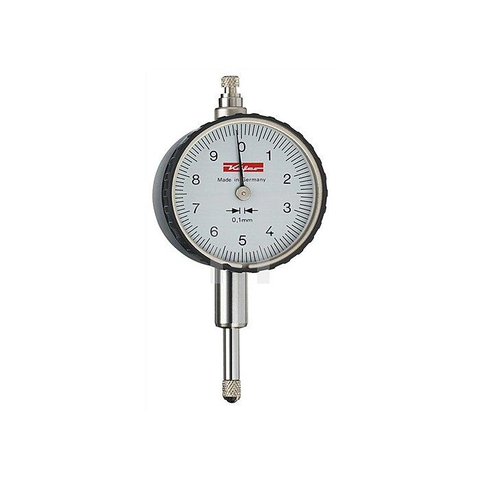 Messuhr KM10A 10mm Ablesung 0,1mm m.Werkskalibrierung