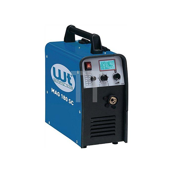 MIG/MAG Schweissanlage WT-MAG 180 SC Inverter tragbar, stufenlos, 25-180A