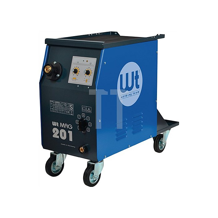 MIG/MAG Schweissanlage WT-MAG 201 400V Strombereich 25-200A