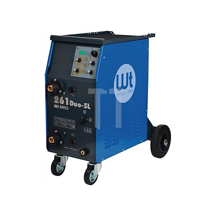 MIG/MAG Schweissanlage WT-MAG 261 Duo-SL 400V, Strombereich 15-260