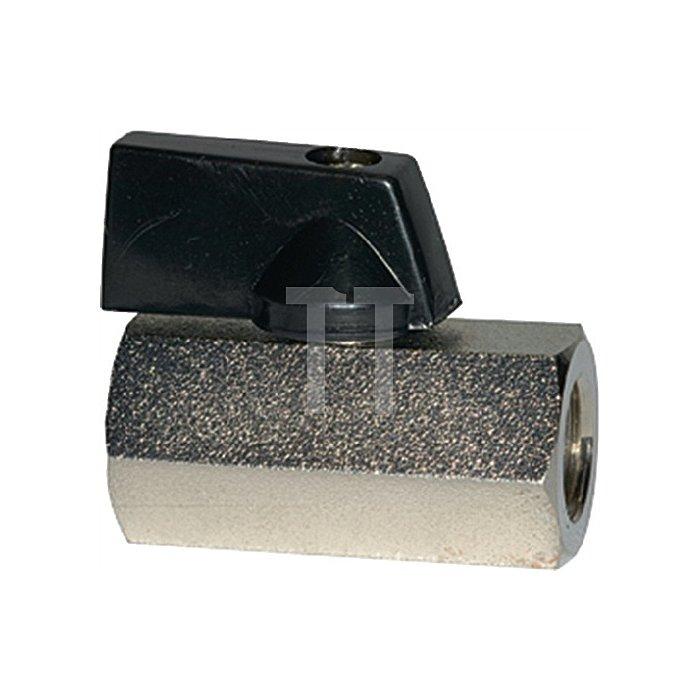 Mini-Kugelhahn Serie valve line G 1/2 innen, DN 10