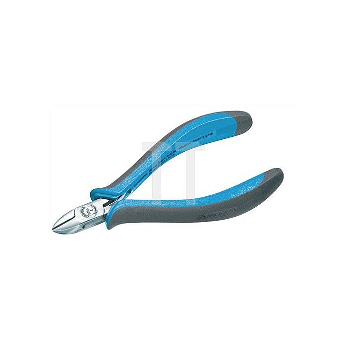 Mini-Seitenschneider m.Drahthalter 2Komp.-Griff 125mm
