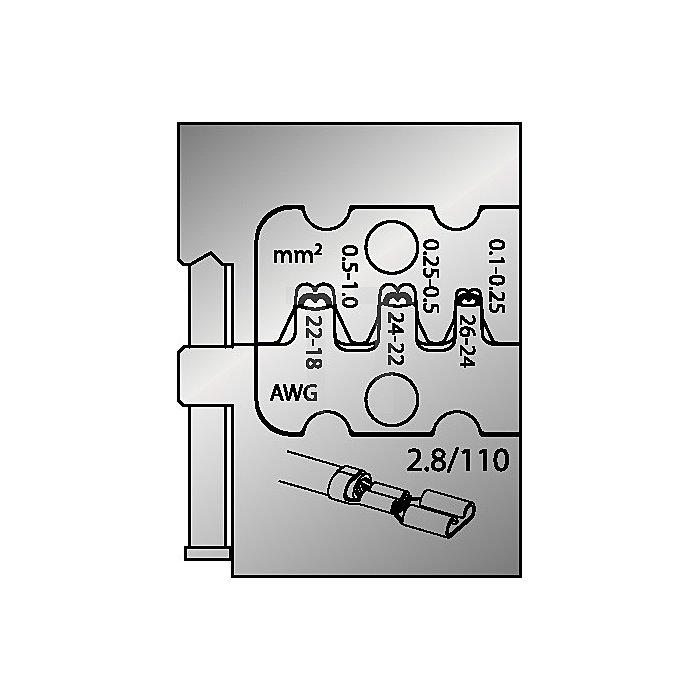 Moduleinsatz 0,1-1mm2/26-18mm2