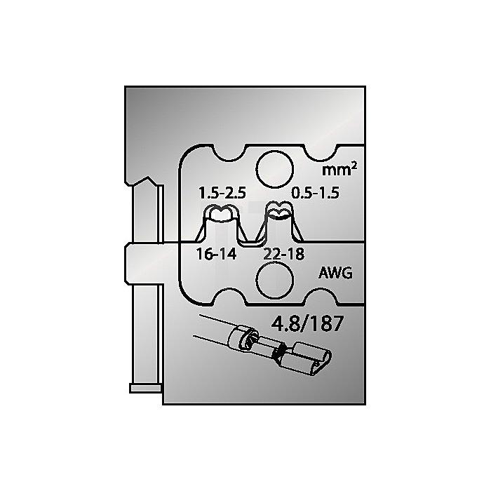 Moduleinsatz 0,5-2,5mm2/22-14mm2