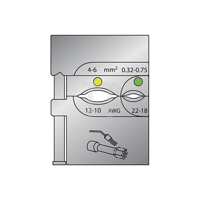 Moduleinsatz D.0,32-6,00mm2
