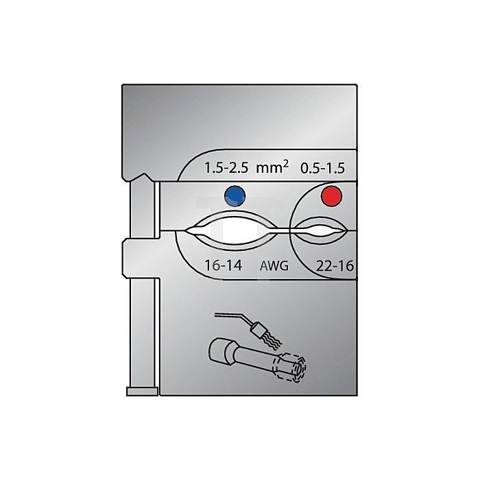 Moduleinsatz D.0,50-2,05mm2