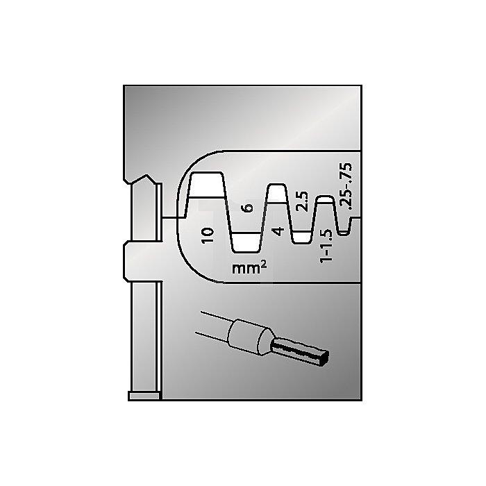 Moduleinsatz Schneidkapazität 0,25-10mm2