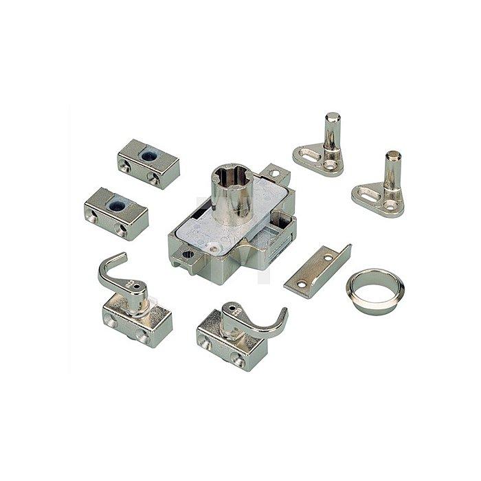 Möbel-Drehstangenschloss System Prestige 2000 / 079803 Dorn 15mm Stahl