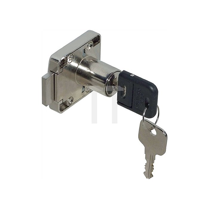 Möbel-Kastenschloss System 600 verschiedenschließend Dorn 25 DIN L / R Zamak